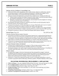 Corporate Resume Examples 76 Images Executive Resume Samples