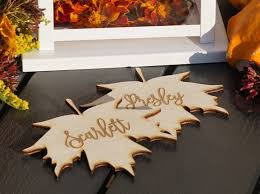Fall Place Cards Holiday Fall Place Name Cards Set Of 2