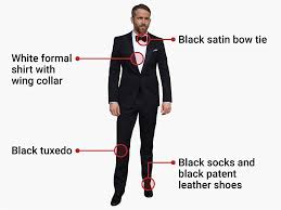 Mens Bedroom Wear What To Wear To A Black Tie Event Business Insider