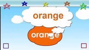 Bé học tiếng anh|Bé làm quen với màu sắc bằng tiếng anh|Bảng chữ cái tiếng  anh - YouTube