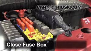 replace a fuse 1995 2000 dodge stratus 1996 dodge stratus es Dodge Stratus Fuse Box 6 replace cover secure the cover and test component dodge stratus fuse box diagram