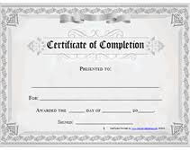 free certificate of completion template printable certificate of completion awards certificates templates