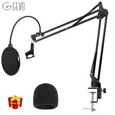 <b>GEVO NB 35</b> Microphone Holder Suspension Arm Adjustable Stand ...