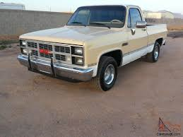 GMC SIERRA CLASSIC 2WD DRIVE SHORT BED SHORTBED C10 CHEVY GM CHEVROLET