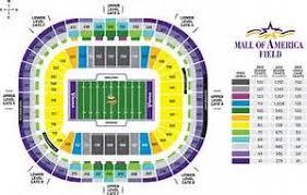 New Minnesota Vikings Stadium Seating Chart Minnesota Vikings Seating Chart Bing Images Minnesota