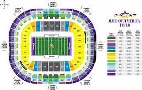 Minnesota Vikings Tickets Seating Chart Minnesota Vikings Seating Chart Bing Images Minnesota