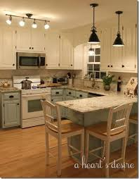 Delighful Two Tone Painted Kitchen Cabinets Ideas 25 On Pinterest To Concept