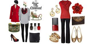 Latest Christmas Party Outfits 2013 2014  Polyvore Xmas Costumes Christmas Party Dress Up Ideas