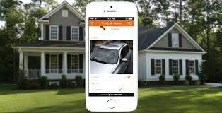 Cell Phone Security Camera Systems Interactive Home Being Monitored On