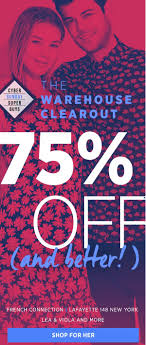 the warehouse clearout 75 off big brands off 5th saks fifth avenue email archive