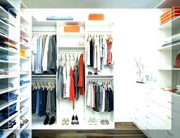 large closet ideas deep narrow organization size of