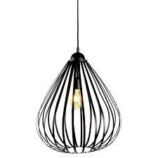 Hanglamp Zwart Sebo 70cm