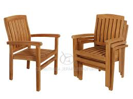 Teak Reclining Chairs  Teak Stacking Chairs