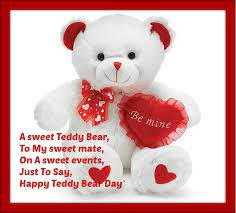 teddy bear day images free