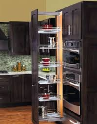 pull out kitchen cabinet drawers d codeco intended for roll