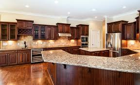 Love Love Love Dark Cabinets Maple Kitchen With Black And Brown