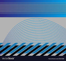 Professional Business Blue Background Template Vector Image