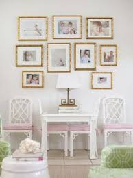 gold picture frame wall art