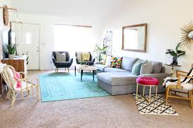 colorful living room. colorful living room reveal-22