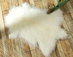 mongolian fur rug fur rug throw lambskin fur hide pelt curly hair carpet grey mongolian faux