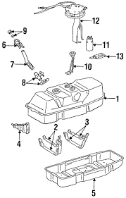toyota t100 fuel system diagram wiring diagram structure genuine oem fuel system components parts for 1993 toyota t100 sr5 toyota t100 fuel system diagram