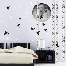 quick view on self adhesive wall art stickers with birch tree wall decal birch tree trunk wallpaper decal sticker