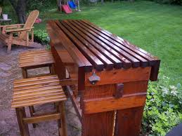 portable patio bar. Bar Style Outdoor Patio Furniture Portable Sets Rattan High Table D