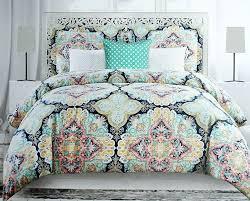 bedding set boho chic bedding sets with more amazing blue bohemian bedding envogue colorful boho