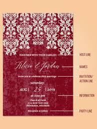 Sample Of Wedding Invatation 25 Wedding Invitation Wording Examples And Details Wedding Forward