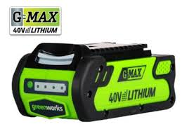 the green works amazon com greenworks 40v 2 0 ah lithium ion battery 29462
