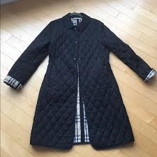 61% off Burberry Jackets & Blazers - Burberry Long Quilted Jacket ... & Burberry Long Quilted Jacket Adamdwight.com