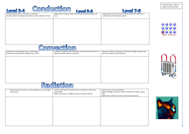 conduction convection radiation worksheet. conduction convection radiation levelled tasks by becobbold - teaching resources tes worksheet o