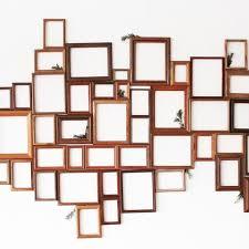 diy wooden frame holiday photo backdrop or wall decor