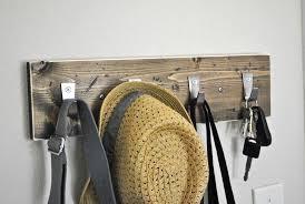 Distressed Wood Coat Rack Distressed Wood Coat Rack Coat Hooks Hat Rack Key Hooks 38