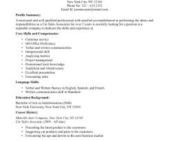Good Resume Sales Associate Objective For Retail Associate
