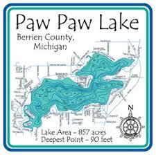 Map Of Paw Paw Michigan