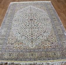 handmade kashmir carpets wool silk rug persian rugs 10 x14