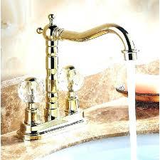 gold kitchen faucet. Gold Kitchen Sink Faucet Crystal Dual Handle Long Neck Deck Mount Bathroom R