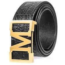 M Designer Belt Amazon Com Martino Special M Belt Buckle Designer Belt