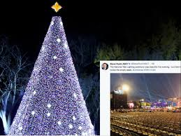 2017 National Tree Lighting Photos Of Trumps Christmas Tree Lighting Are All Kinds Of