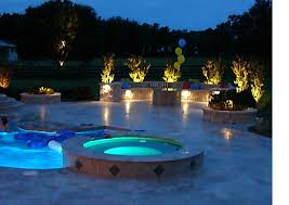 Inground pools at night Grecian Style Lighting In And Around Your Pool And Spa Can Add Significantly To The Appeal And Mood Of Your Pool At Night This Guide Is Part Of Series Of Pool Inyopoolscom How To Set Up In Ground Pool Equipment Part Lighting