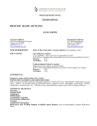 Examples Of Resumes Resume Template Simple Student Job Title