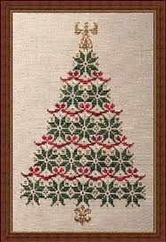 Christmas Tree Cross Stitch Chart Simply Christmas Cross Stitch Pattern Christmas Tree Cross