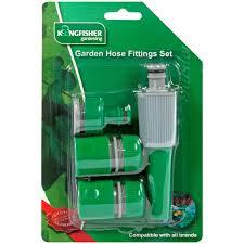 garden hose spray nozzle. Kingfisher Garden Hose Spray Nozzle Starter Set