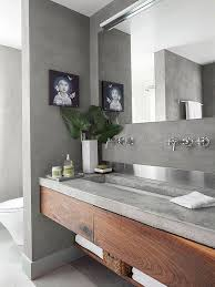 concrete bathrooms. bathroom: magnificent best 25 concrete countertops bathroom ideas on pinterest diy in from bathrooms