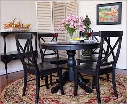 round black dining room table. Enthralling Dining Room Decoration Gorgeous Lovely Black Round Table Set Awesome To Do