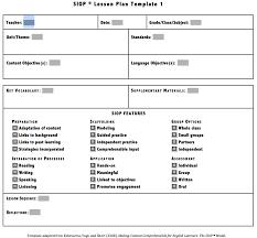 Siop Lesson Plan Template 1 Siop Lesson Plan Template 1 Download Siop Lesson Plan Template 1 2 3