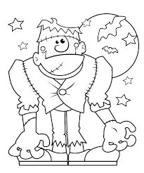 Kids Coloring Pages Printable Coloring Pages For Halloween Free