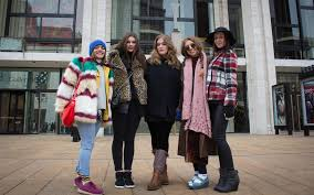 how does the fashion industry play into our idea of beauty al  from left madge ortiz rachel johnson emma katinia brumenschenkel eavan dempsey fashion institute of technology