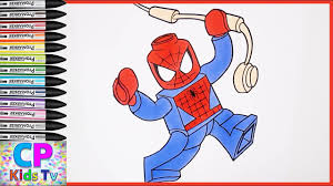 Lego Spiderman Coloring Pages Part 22 Spiderman Coloring Pages